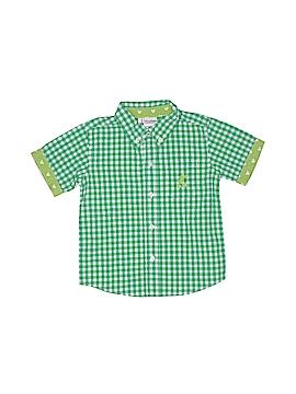 Disney Parks Short Sleeve Button-Down Shirt Size 4T
