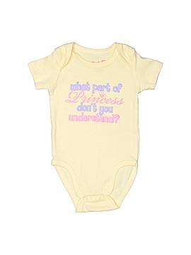 Baby Q Short Sleeve Onesie Size 3-6 mo
