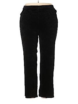Catherines Velour Pants Size 2X (Plus)