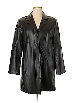 Croft & Barrow Leather Jacket Size XL