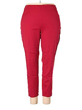 Catherines Casual Pants Size 2XW Petite (Plus)