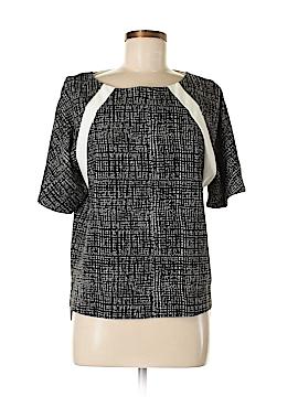 Ellen Tracy Short Sleeve Blouse Size S