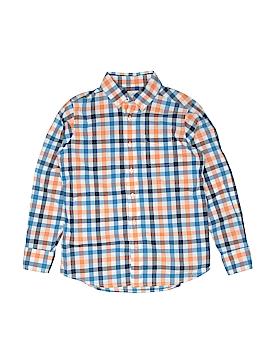 Lands' End Long Sleeve Button-Down Shirt Size L (Kids)