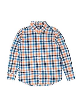 Lands' End Long Sleeve Button-Down Shirt Size S (Kids)