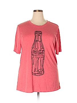 Coca-Cola Short Sleeve T-Shirt Size 2X (Plus)