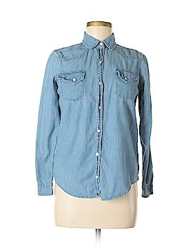 Victoria's Secret Long Sleeve Button-Down Shirt Size XS (Petite)