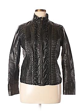 Big Chill Vintage Faux Leather Jacket Size L