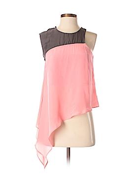 Stella & Jamie Sleeveless Silk Top Size 3X (Plus)