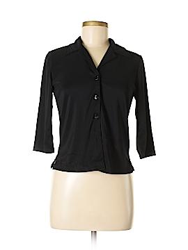 I.N. Studio 3/4 Sleeve Button-Down Shirt Size S (Petite)