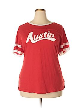 Arizona Jean Company Short Sleeve T-Shirt Size 1X (Plus)