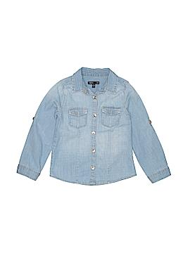 Gap Kids Outlet Long Sleeve Button-Down Shirt Size 4T