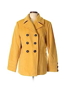 St. John's Bay Wool Coat Size L