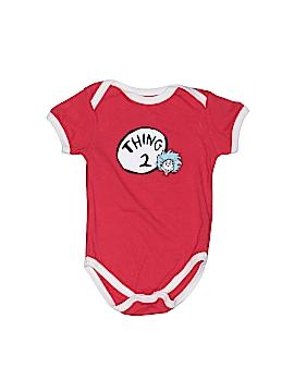 Dr. Seuss Short Sleeve Onesie Size 3 mo