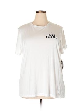 RACHEL Rachel Roy Short Sleeve T-Shirt Size 2X (Plus)