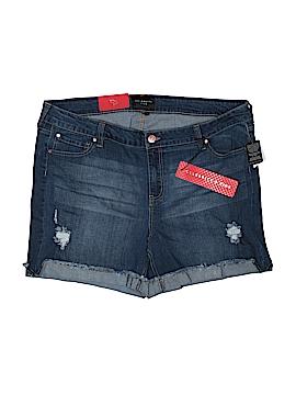 Celebrity Pink Denim Shorts Size 24 (Plus)