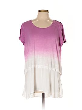 Style&Co Sport Short Sleeve T-Shirt Size 0X (Plus)