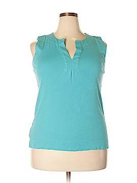 Jones New York Sport Sleeveless T-Shirt Size XL