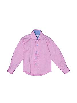 Isaac Mizrahi Long Sleeve Button-Down Shirt Size 2 - 3