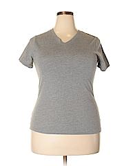 Faded Glory Women Short Sleeve T-Shirt Size XL