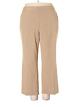 Catherines Dress Pants Size 4X (Plus)