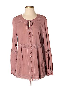 Noelle Long Sleeve Top Size S