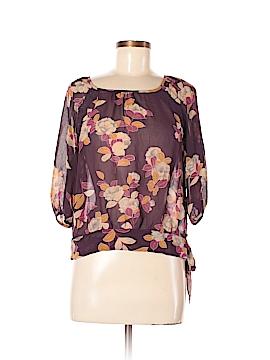 Moulinette Soeurs 3/4 Sleeve Silk Top Size 6