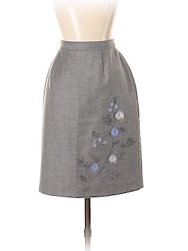 Petite Sophisticate Wool Skirt Size 2