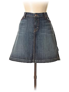 David Kahn Denim Skirt 30 Waist