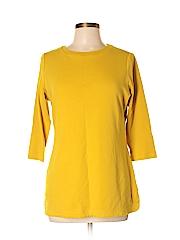 Isaac Mizrahi LIVE! Women 3/4 Sleeve T-Shirt Size M