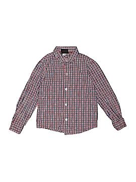 Boys Rock Long Sleeve Button-Down Shirt Size 6