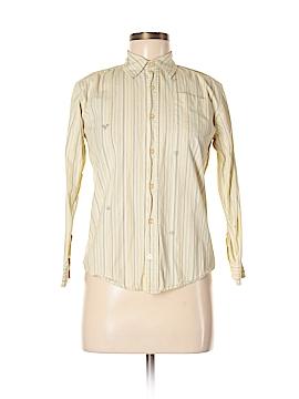 Canyon River Blues Long Sleeve Button-Down Shirt Size M