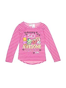 Shopkins Long Sleeve T-Shirt Size 10