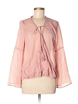 PPLA Clothing Long Sleeve Blouse Size M
