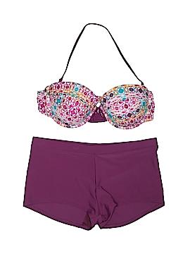 Hula Honey Two Piece Swimsuit Size XL