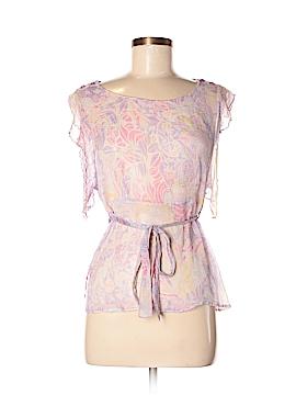 Papillon Short Sleeve Blouse Size M