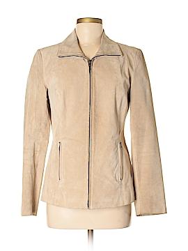 Geoffrey Beene Sport Leather Jacket Size S
