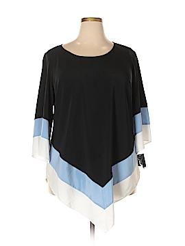 Alfani 3/4 Sleeve Blouse Size 18 (Plus)