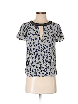 Gryphon New York Short Sleeve Silk Top Size S