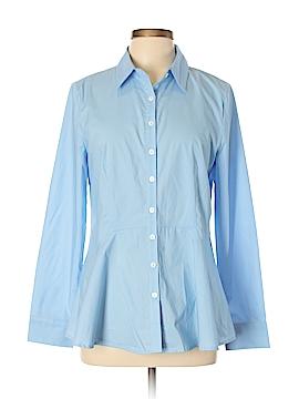 Sundance Long Sleeve Button-Down Shirt Size L