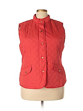Mary McFadden Vest Size 4X (Plus)