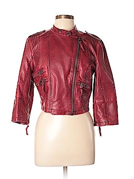Daytrip Faux Leather Jacket Size L