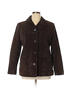New York & Company Leather Jacket Size XL