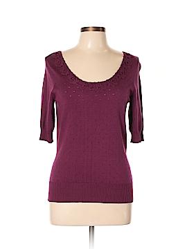 Peck & Peck Silk Pullover Sweater Size M