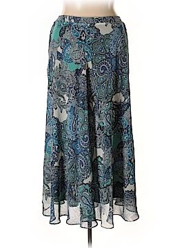 Roz & Ali Casual Skirt Size 1X (Plus)