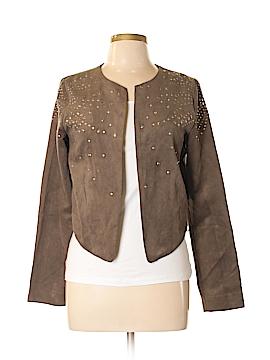 Esley Faux Leather Jacket Size M