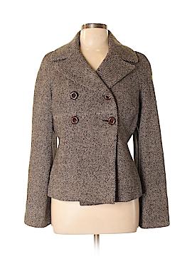 Aqua Wool Blazer Size L