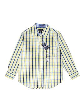 IZOD Long Sleeve Button-Down Shirt Size L (Kids)