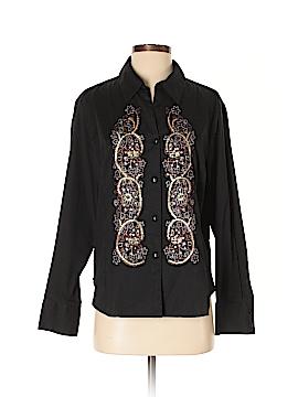 Coldwater Creek Long Sleeve Button-Down Shirt Size pXL