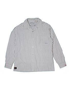 Quiksilver Long Sleeve Button-Down Shirt Size 12 - 14