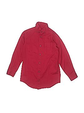 Class Club Long Sleeve Button-Down Shirt Size 8